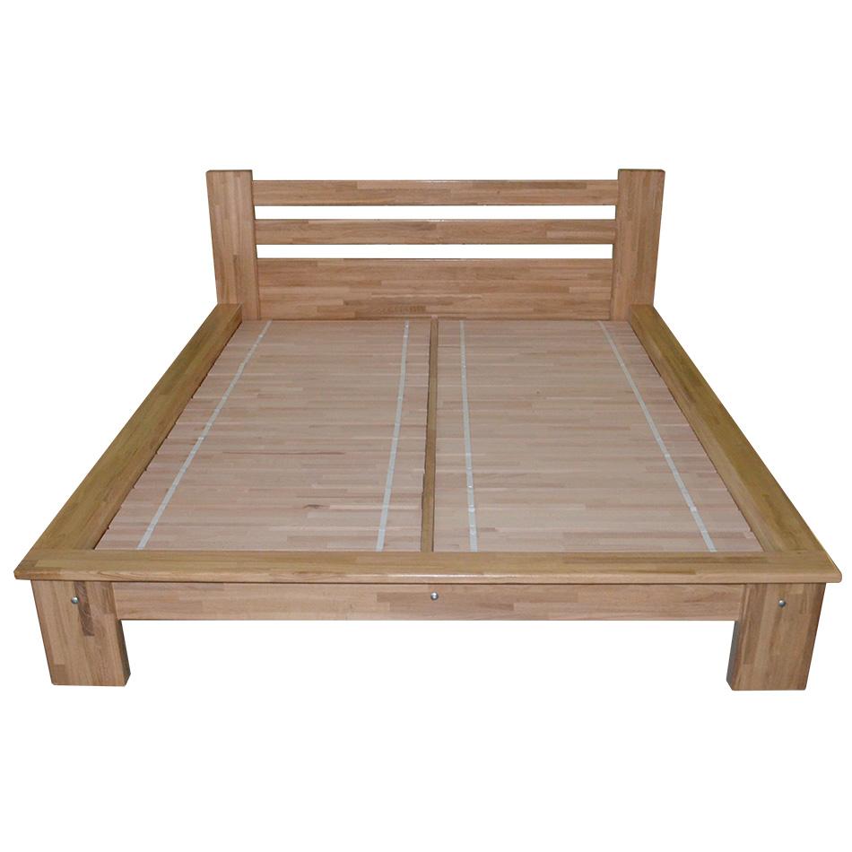 """Ліжко """"Проза"""", дуб, прозорий"""