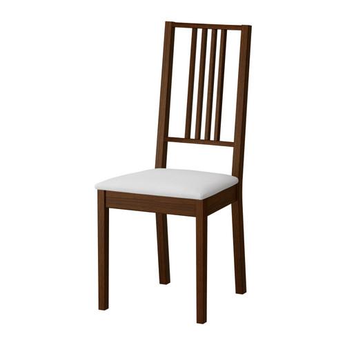 Стілець з м'яким сидінням, коричневий, бук